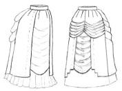 1885 Pannier Panel Add-on Pattern
