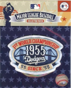 2010 Los Angeles Dodgers 55th Anniversary as 1955 Brooklyn World Series Champions Baseball Patch