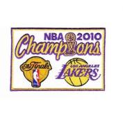 National Emblem Los Angeles Lakers 2010 NBA Finals Champions Patch
