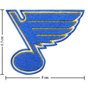 St Louis Blues Logo Embroidered Iron on Patches