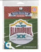 2012 Valero Alamo Bowl Game NCAA Jersey Patch 20th Anniversary (San Antonio) Texas vs. Oregon State