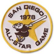 1978 All-Star Game MLB Baseball Patch - San Diego Padres Host