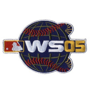 2005 World Series Official MLB Patch - Chicago White Sox over Houston Astros