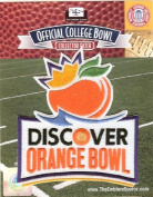 2011 Discover Orange Bowl Game Patch
