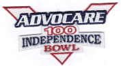 Advocare 100 Independence Bowl NCAA Game Jersey Patch
