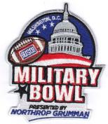 Northrop Grumman Military Bowl Game Jersey NCAA Football Patch