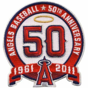MLB Los Angeles Angels of Anaheim 50th Anniversary Collectible Patch