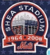 New York Mets Shea Stadium Closing Patch 2008 MLB Collectors Patch
