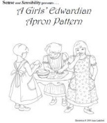 1910-1912 Edwardian Apron Pattern for Girls