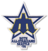 1979 MLB All Star Game Seattle Mariners Kingdome Patch