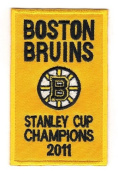 2011 Boston Bruins Stanley Cup Champions Banner Patch