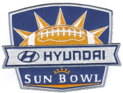 2012 for for Hyundai Sun Bowl Game NCAA Jersey Patch