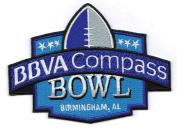 BBVA Compass Bowl NCAA Game Jersey Patch