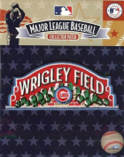 Chicago Cubs Wrigley Field Logo Patch Official MLB Licenced