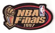 1997 NBA Finals Patch Chicago Bulls Utah Jazz