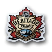 2011 NHL Heritage Classic Logo Patch - Calgary Flames
