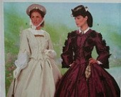 BUTTERICK 6694 MAKING HISTORY CIVIL WAR ERA TOPS & SKIRTS SEWING PATTERN MISSES' SIZES
