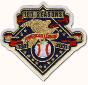 2001 American League 100th Anniversary Patch