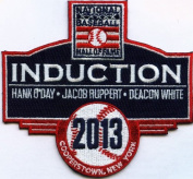 2013 National Baseball Hall Of Fame Induction Patch