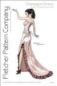 Champagne Dream Pattern for 43cm Super Deluxe Lara Croft