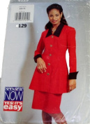 See & Sew 4129 Misses Tunic and Skirt Size 6,8,10