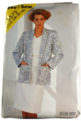 See & Sew 5575 Pattern Misses Jacket,Top and Skirt Size C 20,22,24