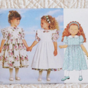Butterick 4750 Girls Dress Pinafore - Size 1-2-3