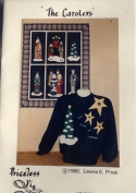 The Carolers - Applique Patterns & Instructions for 70cm x 90cm Wallhanging or Sweatshirt