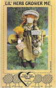 Lil' Herb Grower Me - 43cm Country Doll Patterns by Beth Davis