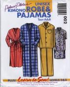 Palmer/Pletsch 002 - Unisex Kimono Robe & Pyjamas - Teen-Adult