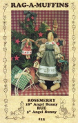 Rag-A-Muffins Rosemerry and Rue - Christmas Angel Bunny Pattern - Designed by Sam Niehaus #12