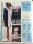 Sewing Step-by-Step Princess Dress Sewing Pattern Size 4-22