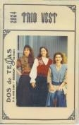 Trio Vest Sewing Pattern - Dos de Tejas 2024 - Sizes 6 - 20