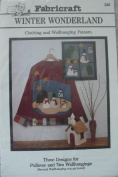 Winter Wonderland- Snowmen Applique Pullover & Wallhanging Patterns & Instructions