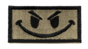 King Arms Funny Patch w hook and loop Tan Colour