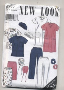 New Look Scrubs Sewing Pattern #6777