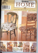 Simplicity Home 7966 Chair Pads Futon Glider Covers Sewing Pattern