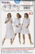 Burda Easy Dress & Jacket Sewing Pattern 20240cm Sizes 10 - 22