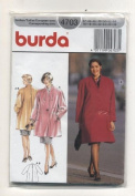 Burda Womans Coat Sewing Pattern #4703