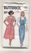 Butterick 3742 Misses Jumper, Jumpsuit and Top Sewing Pattern