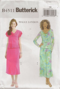 Butterick B4511, Misses' Coordinates, Size BB(8-14), OOP
