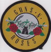 Guns N Roses Appetite for Destruction Rare Iron on Embroidered Music Patch