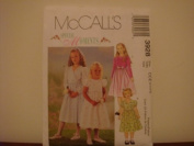 McCall's Special Moments 3928 Girls Dress Patterns Sizes CCE 3-4-5-6