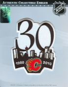 NHL Calgary Flames 30th Anniversary Logo Patch