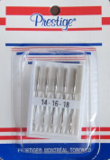 Prestige Pack of 5 SEWING MACHINE NEEDLES Sizes 14 - 16 - 18