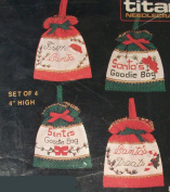 Santa's Bags Cross Stitching Craft Kit