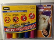 Styli Stick Transfer Paint Repositionable Paint 5 Colours