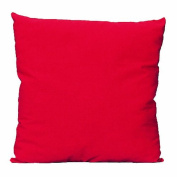 Haan Crafts Unprinted Woven Pillow Beginner/Kids Sewing Kit, Red