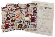 Haan Crafts Fun Print Stuff Bag Sewing Kit