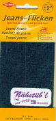Original Kleiber Repair sheet denim dark blue, 6.7x5.9 inch / 17x15cm